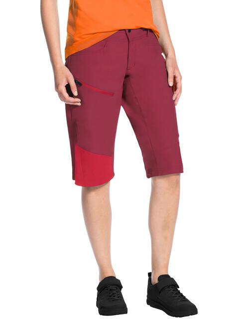 VAUDE Moab III Shorts Women red cluster